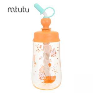 China Mtutu Silica Gel Cap Orange 450ml Water Bottle factory
