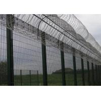 Buy cheap High Security Prison Mesh Fence Panels / 358 Anti Climb Fence from Wholesalers
