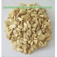 China Dehydrated ginger chopped 3-8mm,natural orgnic ginger products factory