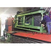 Buy cheap 4m Galfan Coated Wire Automatic Gabion Mesh Machine , Mesh Dia. 3.0mm - 3.2mm from wholesalers
