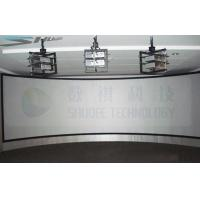 China Panorama Sreen 5D Cinema Equipment Arc Screen with 6 Projectors factory