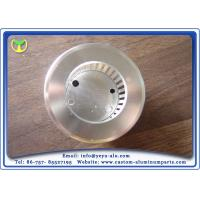 Quality Custom Cnc Milling Machine Parts Free Size Aluminum Lampshade With Aluminum for sale