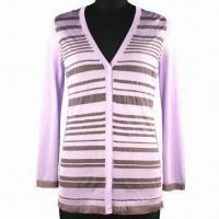 Buy cheap Women's sweater, made of viscose and rayon, 14gg gauge, with long sleeves from wholesalers