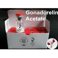 Buy cheap Human Growth Hormone Active Pharmaceutical Ingredient Gonadorelin Acetate 71447-49-9 from Wholesalers