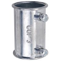 China Zinc Die Casting Electrical Conduit Fittings 4 Inch EMT Coupling Set Screw Type factory