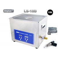 Buy cheap Limplus Bicycle Chain Injector Table Top Ultrasonic Cleaner With Heater , 10 Liter Digital Ultrasonic Cleaner 200w from Wholesalers