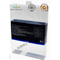 Buy cheap PET Plastic Garment Sleepwear Packaging Boxes Glossy Finished Varnish Film from Wholesalers
