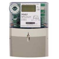 Prepayment kilowatt hour meter 1 phase 2 wire with LCD display IEC 62053-21