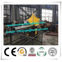 China HVAC Spiral Duct Forming Machine , Wind Tower Production Equipment For HVAC PIpe Make factory