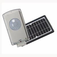 China 8w All In One Solar Street Courtyard Light 2835 Pure White 5700-6500 MCD factory