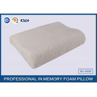Buy cheap Comfort Waved shapded Memory Foam Contoured Pillow , Classic Memory Foam Pillow from Wholesalers