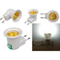 E27 Base Socket EU Plug Night Light With Power On-off Control Switch wall E27 fixture with Insert wall type