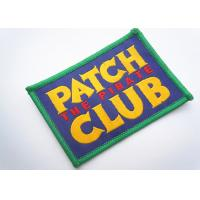 China Handmade Custom Clothing Patches Embroidered Brand Logo Patch factory