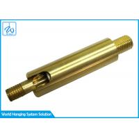 China SGS Brass Universal Joint Coupling / Lamp Swivel Parts For Lighting factory