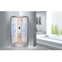Buy cheap KPN2064 Customized Circle Glass Shower Cabin , Curved Corner Shower Units from Wholesalers
