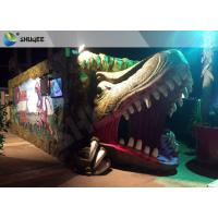 China Electric Dynamic 7D Cinema System Dinosaur House In Entertainment Places factory