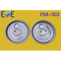 Buy cheap 52mm 202# PET Can Easy Open Cap , Aluminum Easy Open Cans Lid from Wholesalers