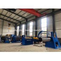 Buy cheap PLC Control Cold Roller Sheet Steel Coil Slitting Line Large Thickness 1.5mm from wholesalers
