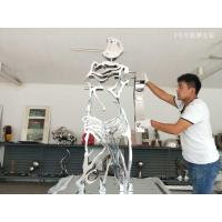China 316 L stainless steel sculpture with mirror polish ,designed by artist for exhibition ,China metal Sculpture supplier factory
