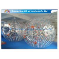 China Big Transparent Inflatable Bubble Ball /  Hamster Ball Popular Adults Soccer Sports factory