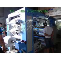 Buy cheap New 4 Color Plastic Bag Flexo Printing Machine High Speed Automatically Controlled from Wholesalers
