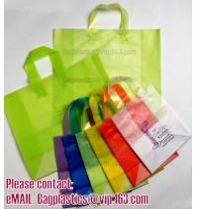 China Shopper, Shopping bags, Soft loop handle, Die cut handle, Flexi loop handle, Thermal bags factory