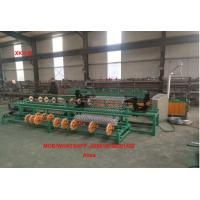 China China High Speed 3m width servo motor singel wire feeding Full Automatic Chain Link Fence Machine factory
