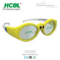 Buy cheap Yellow / Pink / Purple Kid 3d active shutter glasses For Xpand Cinema System from Wholesalers