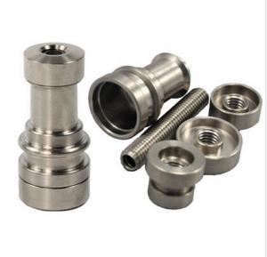 China Universal Adjustable Domeless Ti Titanium Nail GR2 14mm 18mm 19mm on sale