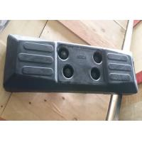 China Protective Chain On Excavator Rubber Pads Black Color High Performance factory