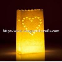 China Wholesale happy birthday luminaire handmade paper lantern candle bags for christmas party factory