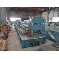 Buy cheap Mitsubishi PLC Metal Guardrail Cold Roll Forming Machine with ISO9001 Quality System from Wholesalers