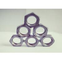China Right Hand / Left Hand Thread M18 Hexagon Nuts Thickness 8.5mm Anti Corrosion factory
