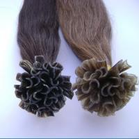 Quality 100% Human Remy U-tip/nail hair extensions wholesale
