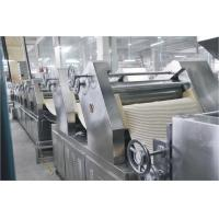 Buy cheap 7 Rollers Full Auto Fresh Noodles Making Machine , Noodle Making Equipment from Wholesalers