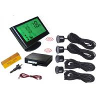China Wireless LCD Display Vision Parking Sensors With 4 Sensors Bi voice Function on sale