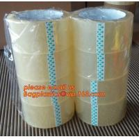 China BOPP color tape Super clear packing tape Low noise packing tape BOPP stationery tape Double-sided jumbo roll BAGPLASTICS factory