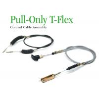 Buy cheap High Tensile Industrial Control Cables , Pull - Only T - Flex Control Cable Assembly from Wholesalers