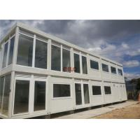 Buy cheap 20ft Steel Frame Mobile Container House Prefab Movable For Hotel Labor Camp from Wholesalers