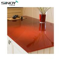 China Interior Deco beautiful Lacquered Painted Glass With Paint factory