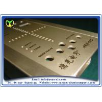 Buy cheap Precision Cnc Milling Custom Aluminum Fabrication With Special Surface Treatment from Wholesalers