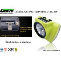 Buy cheap New 18000lux High Brightness LED Miner's Cap Lamp OLED Screen for Battery Capacity Display from Wholesalers