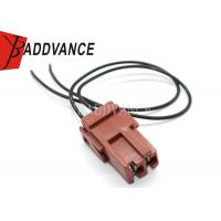 Buy cheap Brown 2 Pin Female Automotive Wiring Harness Connector Fit For Fuel Pump from Wholesalers