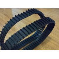China High Running Speed Robot Rubber Tracks , Small Rubber Tracks With Wheels factory