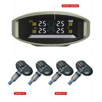 China TPMS Automatic Tire Pressure Monitoring System with LED Display 4 Built-in Sensors factory
