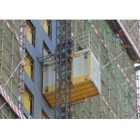 China Construction Site 60M / Min Material Rack And Pinion Lift factory