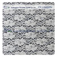 Buy cheap Thick Brushed Bridal Lace Cotton Nylon Fabric For Lady Winter Dress from Wholesalers