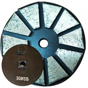 "China 3"" inch 10 segment round shape diamond metal bond plugs factory"