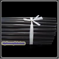 China Graphite filled ptfe tube and rod PTFE tube and rod compound with graphite on sale