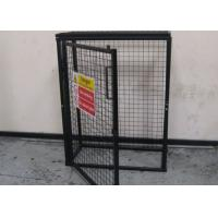Buy cheap Black Powder Coating Gas Cylinder Cages Flexible / Foldable Easy Install from Wholesalers